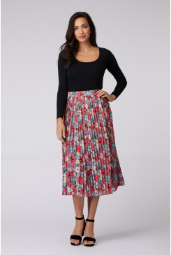 Dancing Poppies Skirt