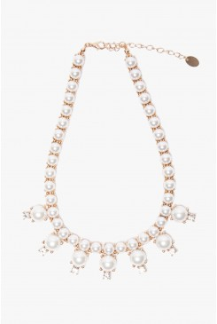 Hugs & Kisses Pearl Necklace