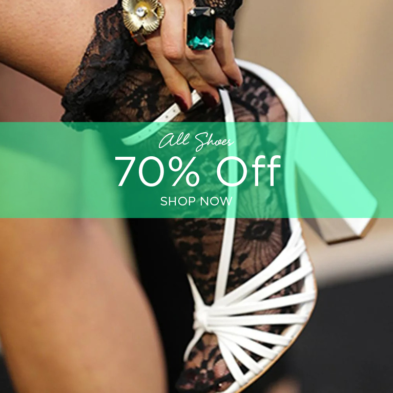 70% off all shoes
